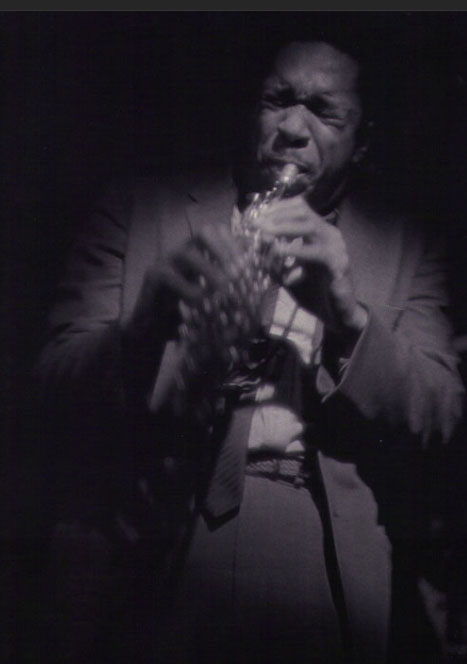 Coltrane by RoyDeCarava