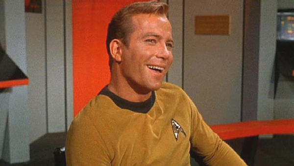william shatner captain kirk. William Shatner as Captain