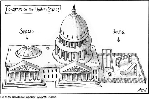 72211-congress-senate-cartoon | Under The LobsterScope