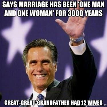 Mitt Romney's Great Grandfather lived over 3,000 years ago…
